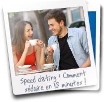 Reussir un speed dating